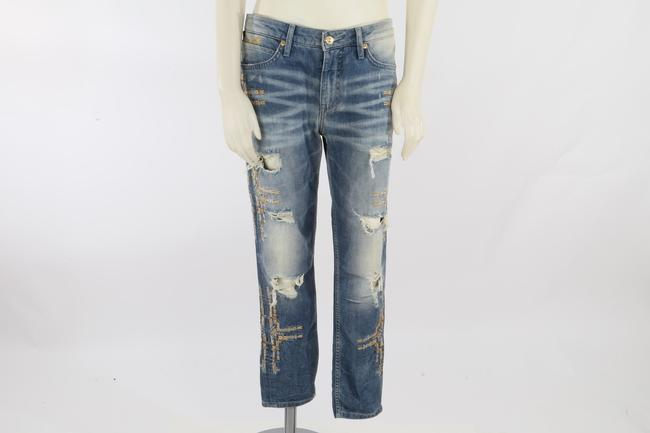 Robin's Jean Casual Capri/Cropped Denim-Medium Wash Image 6
