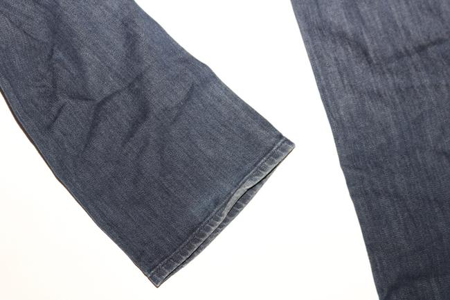 7 For All Mankind Straight Leg Jeans-Dark Rinse Image 5