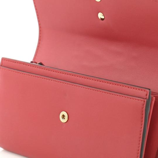 Gucci Sylvie Wallet Leather Red Clutch Image 6