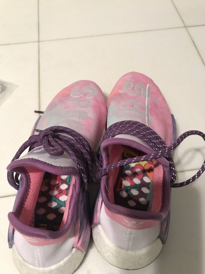 adidas Originals = Pharrell Williams Pink Glow Athletic Image 4