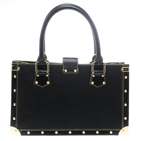 Louis Vuitton Leather Tote in Black Image 1