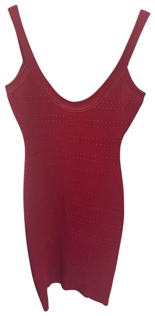 Preload https://img-static.tradesy.com/item/25519519/herve-leger-red-mid-length-night-out-dress-size-6-s-0-1-650-650.jpg