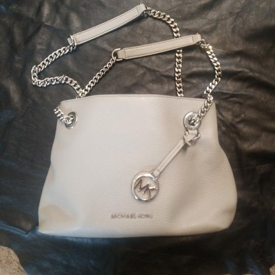 Preload https://item3.tradesy.com/images/michael-kors-grey-petite-purse-two-compartments-with-zipper-pouch-to-separate-button-snap-to-close-n-25519552-0-0.jpg?width=440&height=440