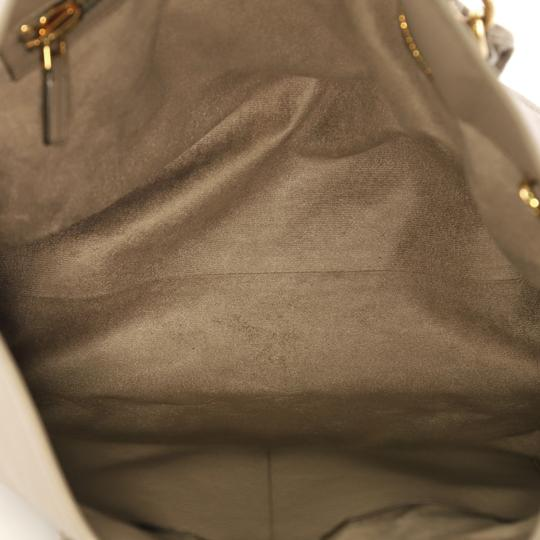 Tom Ford Leather Tote in taupe Image 5
