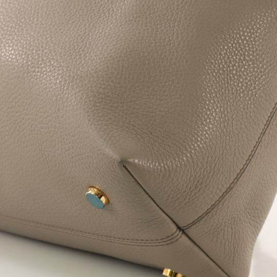 Tom Ford Leather Tote in taupe Image 6