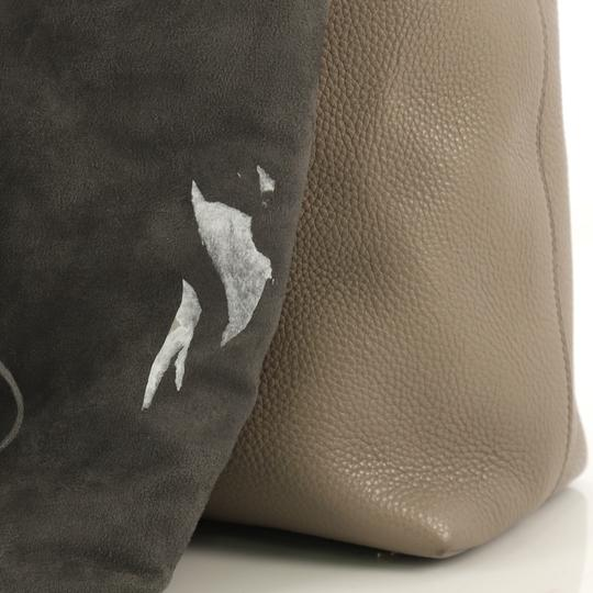 Tom Ford Leather Tote in taupe Image 7