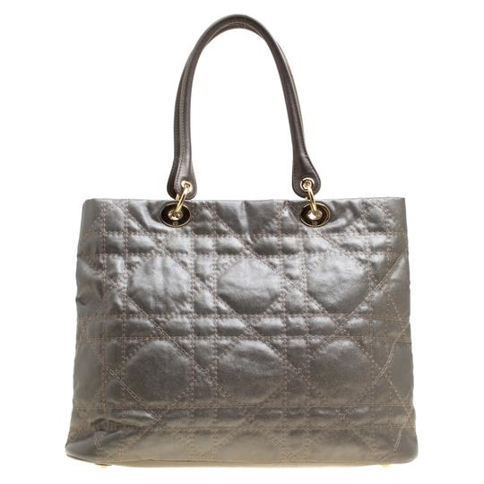 Dior Nylon Canvas Tote in Grey Image 1