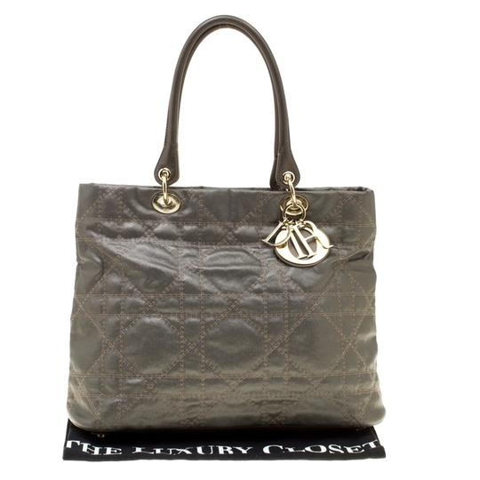 Dior Nylon Canvas Tote in Grey Image 11