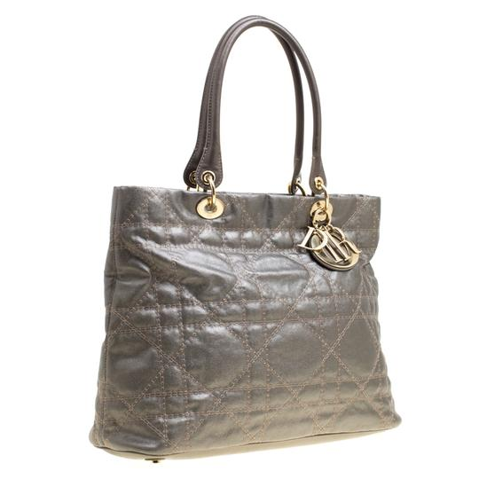 Dior Nylon Canvas Tote in Grey Image 3