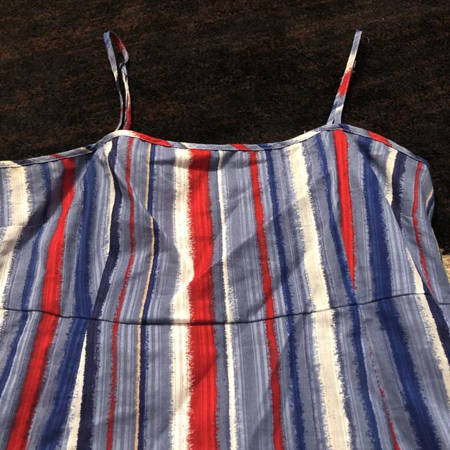 Marc by Marc Jacobs Top Red, White and Blue Image 1