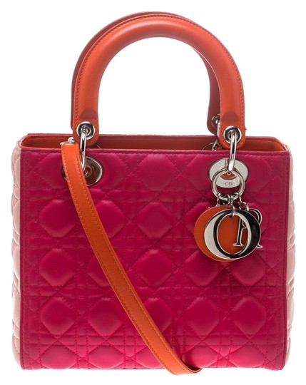 Preload https://img-static.tradesy.com/item/25519609/dior-lady-medium-multicolor-leather-tote-0-1-540-540.jpg