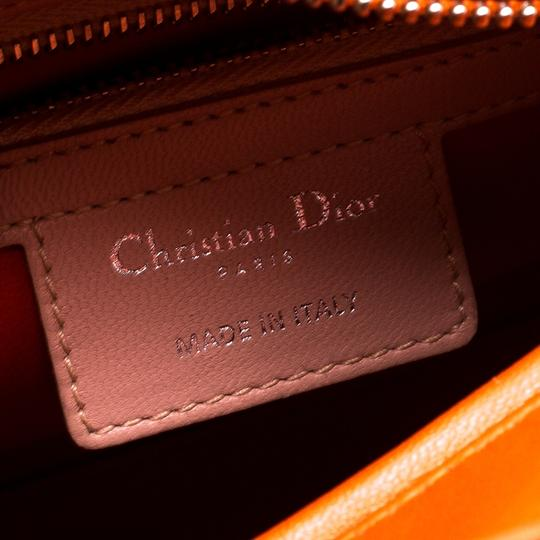 Dior Leather Tote in Multicolor Image 6