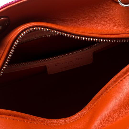 Dior Leather Tote in Multicolor Image 8