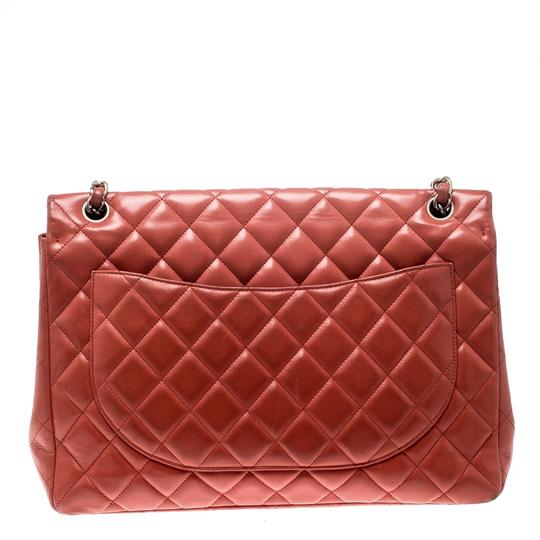 Chanel Leather Quilted Maxi Classic Shoulder Bag Image 1