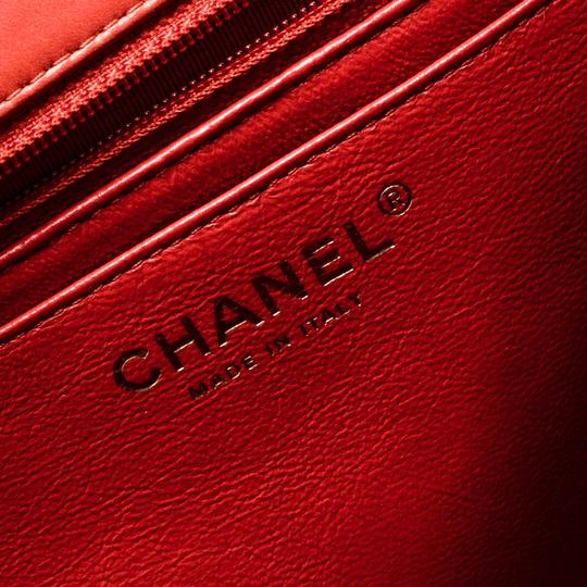 Chanel Leather Quilted Maxi Classic Shoulder Bag Image 11