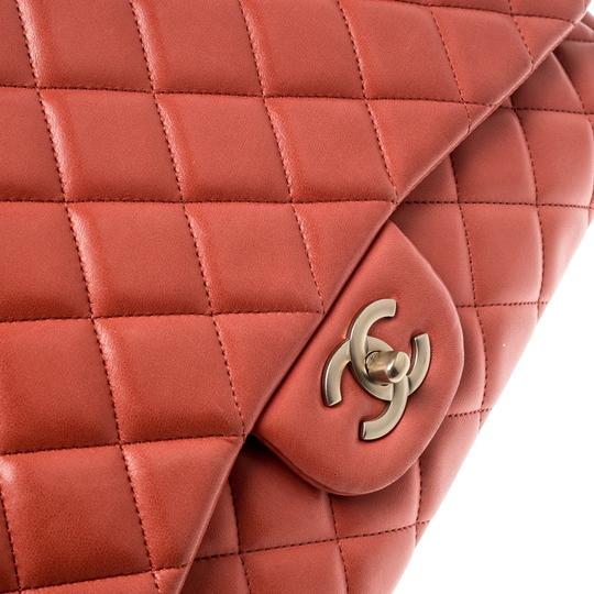 Chanel Leather Quilted Maxi Classic Shoulder Bag Image 9