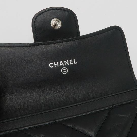 Chanel Chanel So Black Chevron Flap Cardholder Image 3