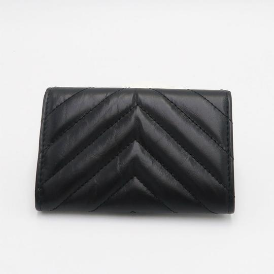 Chanel Chanel So Black Chevron Flap Cardholder Image 6