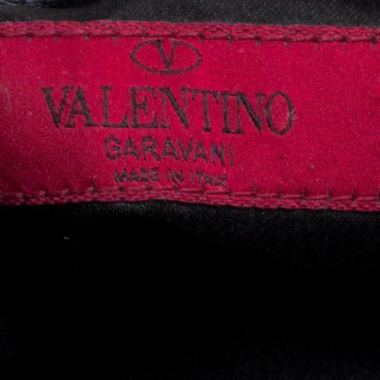 Valentino Leather Satin Satchel in Red Image 6