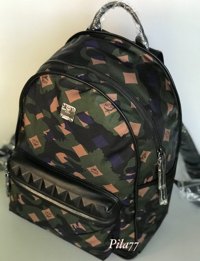 MCM Tote Nylon Tote Summer Backpack Image 3