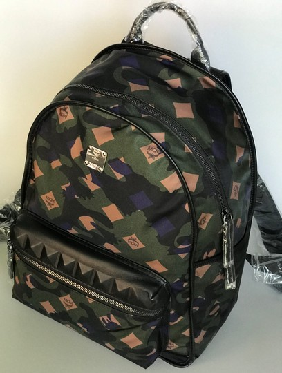 MCM Tote Nylon Tote Summer Backpack Image 5