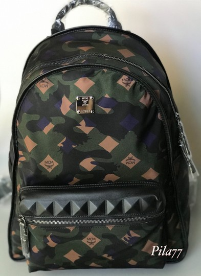MCM Tote Nylon Tote Summer Backpack Image 8