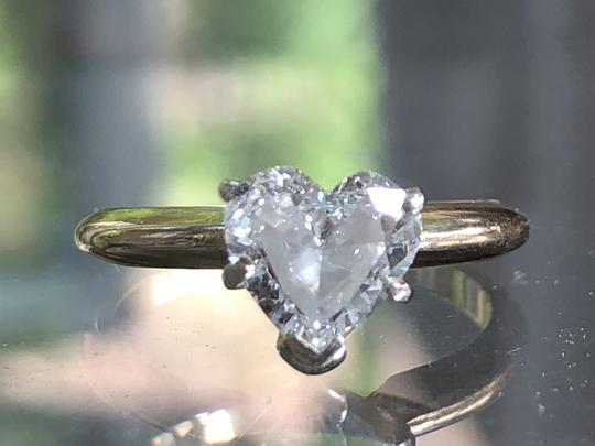 Preload https://img-static.tradesy.com/item/25519707/g-14k-gold-90-ct-heart-shape-solitaire-diamond-si1-engagement-ring-0-0-540-540.jpg