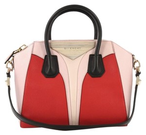 Givenchy Antigona Leather Satchel in Tricolor