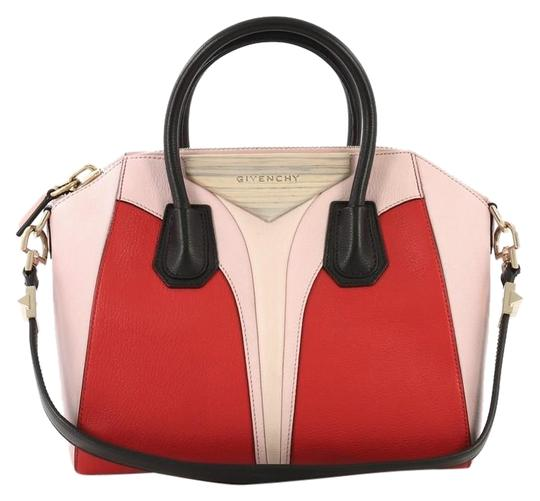 Givenchy Antigona Leather Satchel in Tricolor Image 0