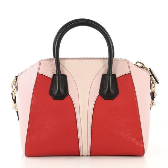 Givenchy Antigona Leather Satchel in Tricolor Image 2