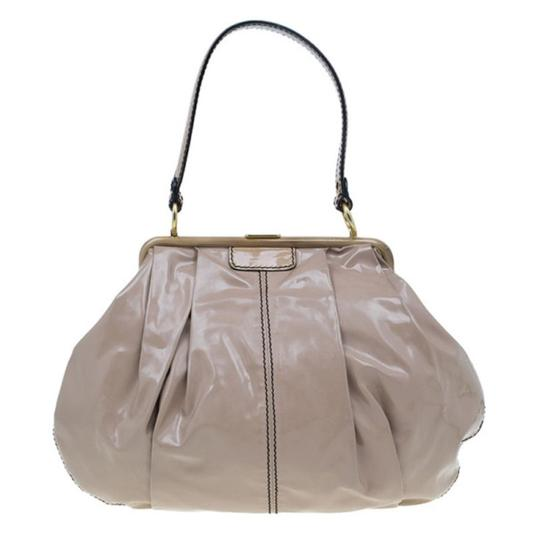Valentino Leather Patent Leather Hobo Bag Image 1