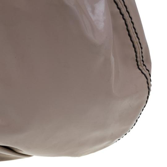 Valentino Leather Patent Leather Hobo Bag Image 5