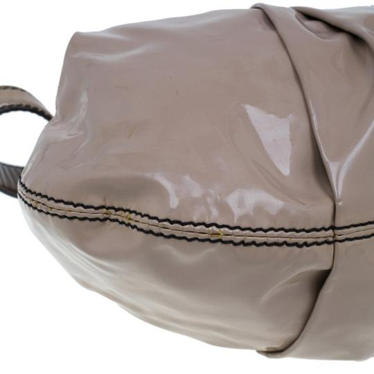 Valentino Leather Patent Leather Hobo Bag Image 7