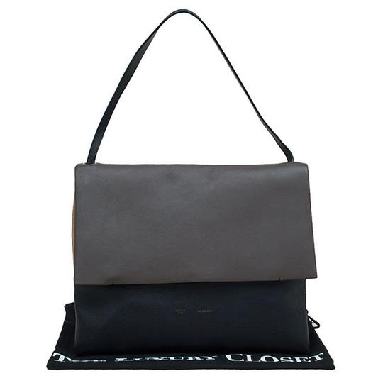 Céline Suede Leather Shoulder Bag Image 11