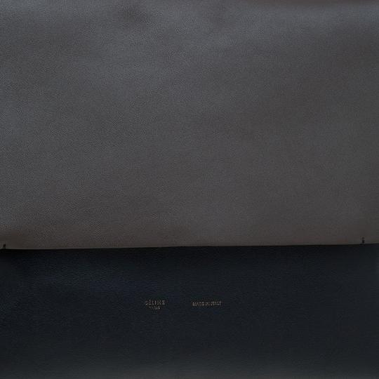 Céline Suede Leather Shoulder Bag Image 8