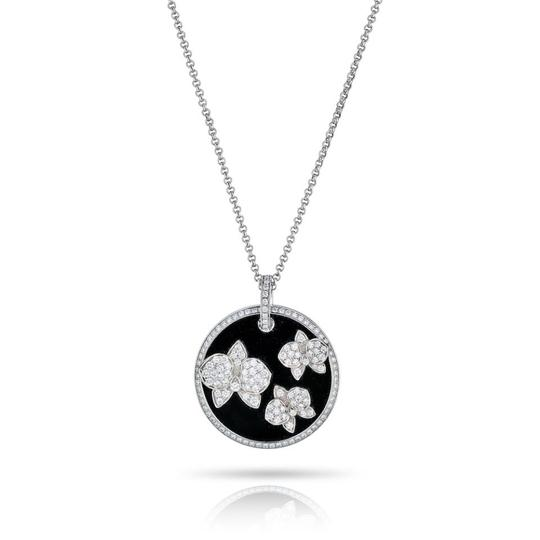 Preload https://img-static.tradesy.com/item/25520094/cartier-black-caresse-d-orchidees-white-gold-diamond-and-onyx-round-pendant-necklace-0-0-540-540.jpg