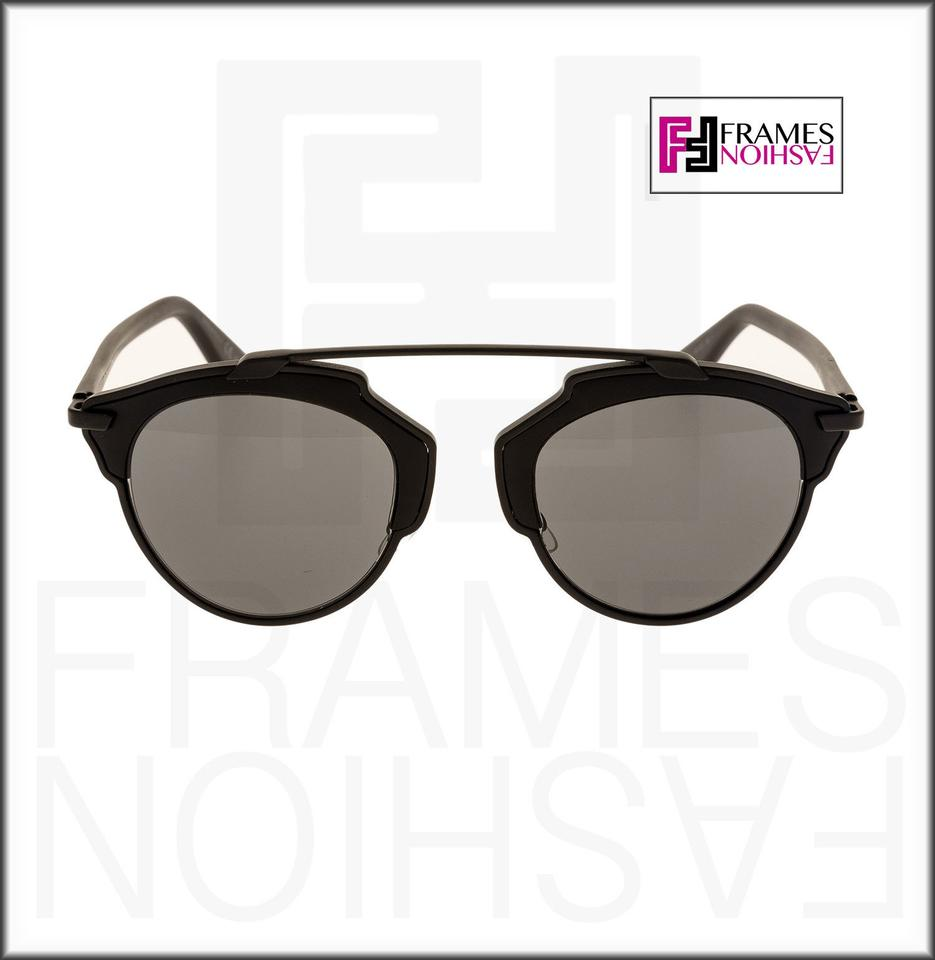 e98a79198 Dior CHRISTIAN DIOR SO REAL Matte Black Grey Metal Mirrored Image 7.  12345678