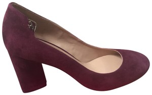 Tory Burch purple/burgundy Wedges