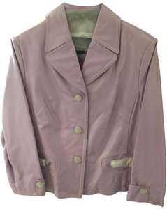 Terry Lewis Classic Luxuries Lavender Leather Jacket