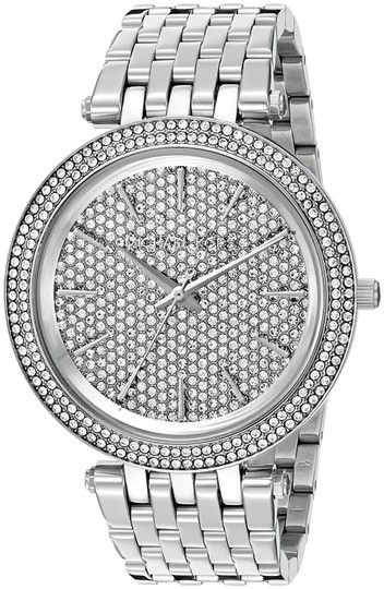 Preload https://img-static.tradesy.com/item/25520686/michael-kors-silver-darci-stainless-pave-crystal-dial-mk3437-watch-0-1-540-540.jpg