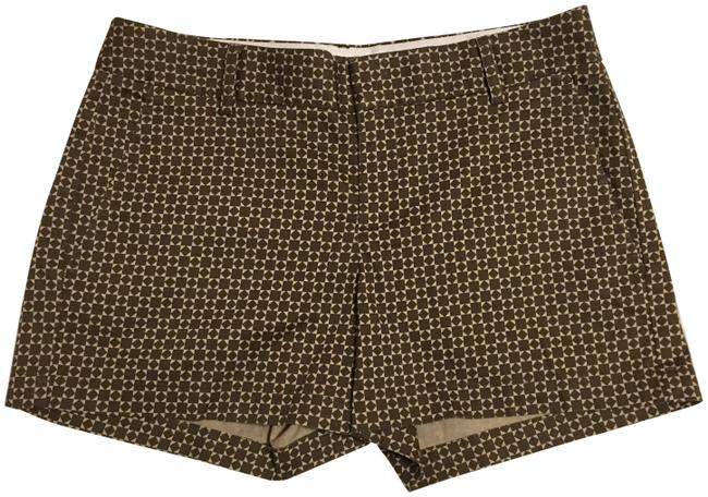 Item - Brown/Cream Martin Fit Shorts Size 4 (S, 27)