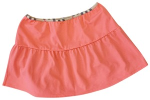 Burberry Mini Skirt coral
