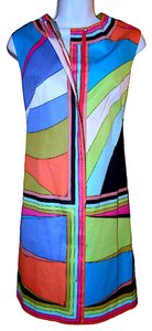Emilio Pucci short dress Multi-Color Vintage Mod on Tradesy