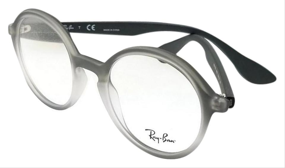 7446cac147da Ray-Ban RX7075-5602 Youngster Unisex Grey Frame Clear Len Genuine  Eyeglasses Image 0 ...