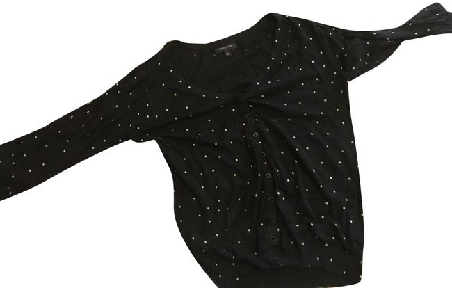 Preload https://img-static.tradesy.com/item/25522000/banana-republic-w-like-new-front-button-w-black-with-gold-dots-sweater-0-1-650-650.jpg