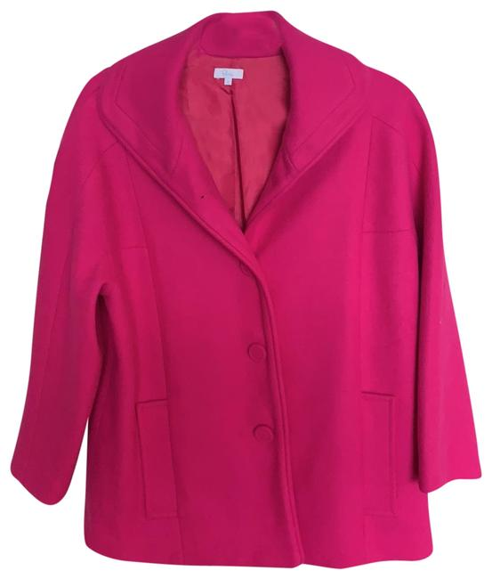 Elorie Fuchsia With Pockets Coat Size 0 (XS) Elorie Fuchsia With Pockets Coat Size 0 (XS) Image 1