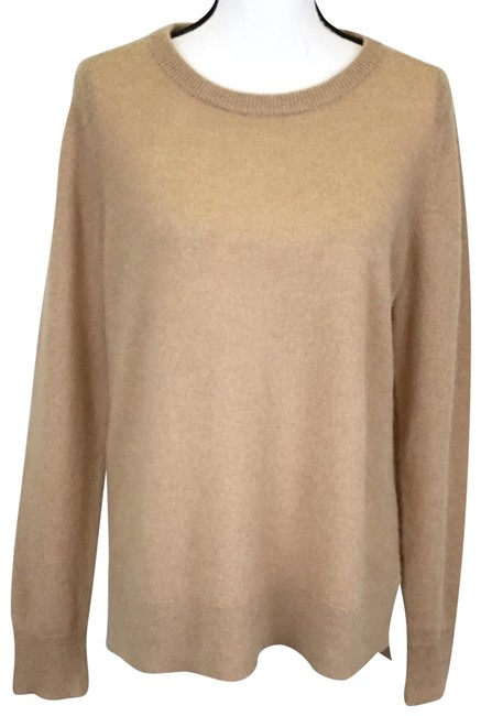 Preload https://img-static.tradesy.com/item/25522189/nordstrom-cashmere-tan-sweater-0-1-650-650.jpg