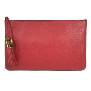 Gucci Bags Pouches 449653 Red Clutch