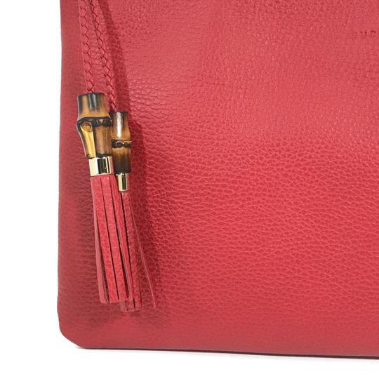 Gucci Bags Pouches 449653 Red Clutch Image 3