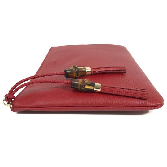 Gucci Bags Pouches 449653 Red Clutch Image 5